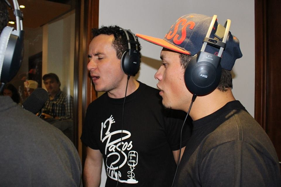 Recording with Fonseca