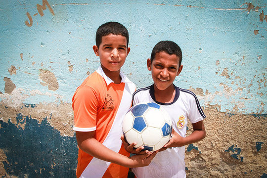 Two of Alianza's kids!