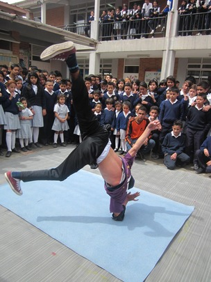 Breakdance participant in DDAM festival