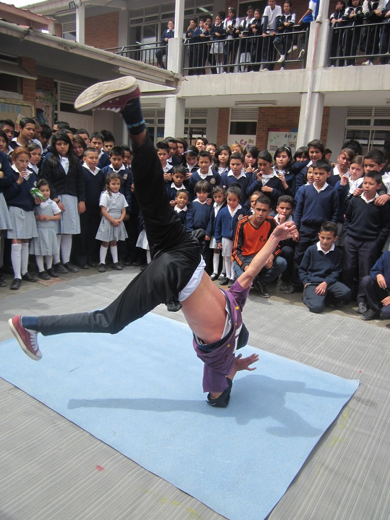 Breakdance participant in DDAM festival