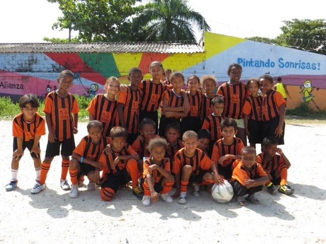 New uniform in Olaya - Cartagena