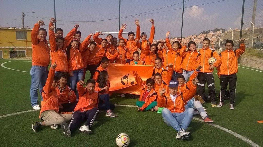 Youth leaders of Tiempo de Juego
