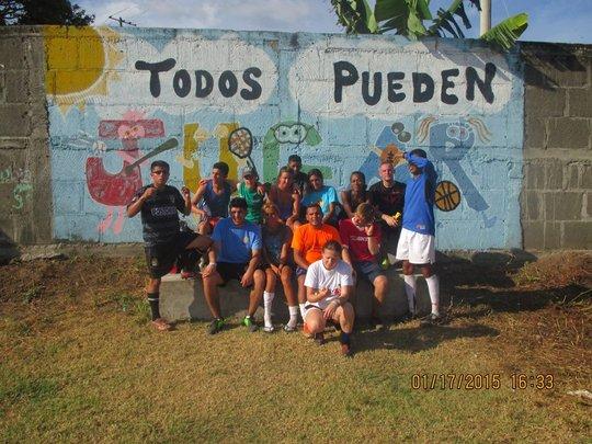 Organization participants at Nicaragua