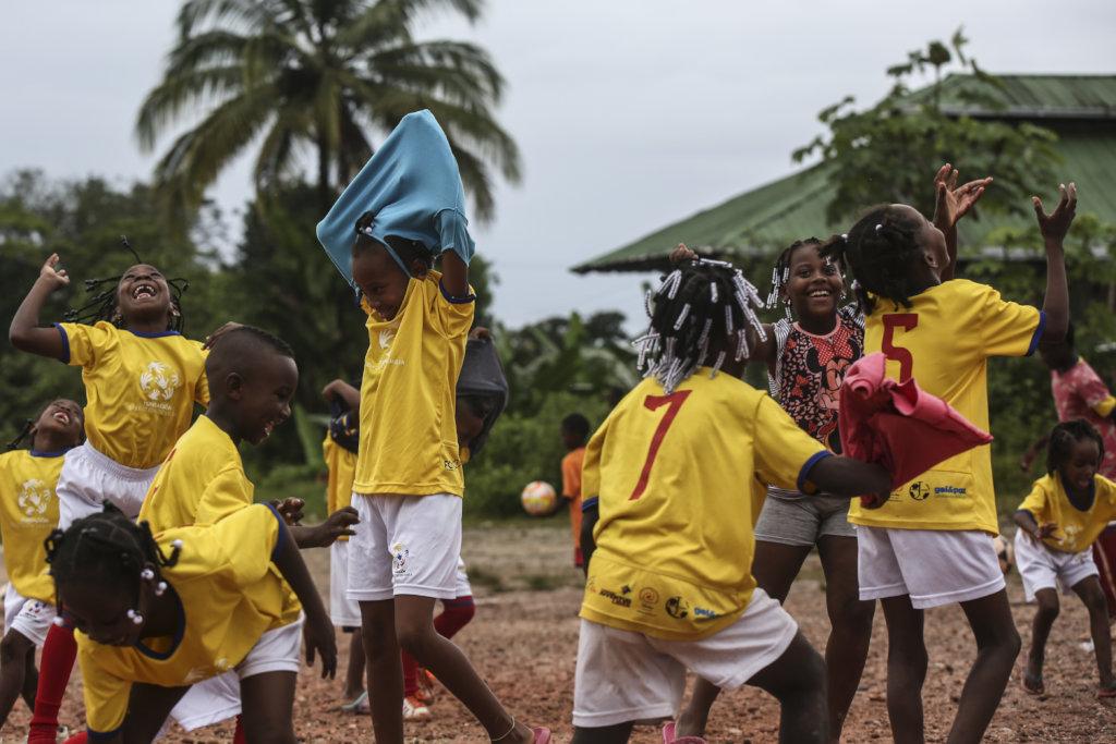 Sports for 5000 Colombian kids' dreams