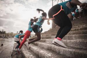 Running team in TImbiqui