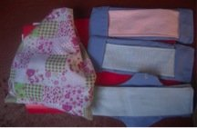 Kits they are making in Lupane, Zimbabwe