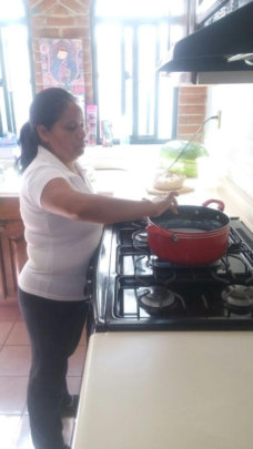 Gris cooking