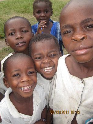 Curious Kids in Baraka, South Kivu