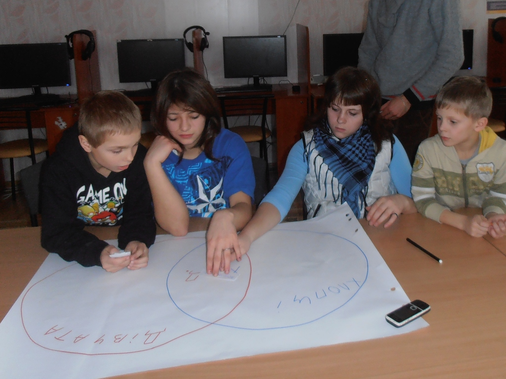 A workshop in Vysgorod orphanage, 12 February 2013