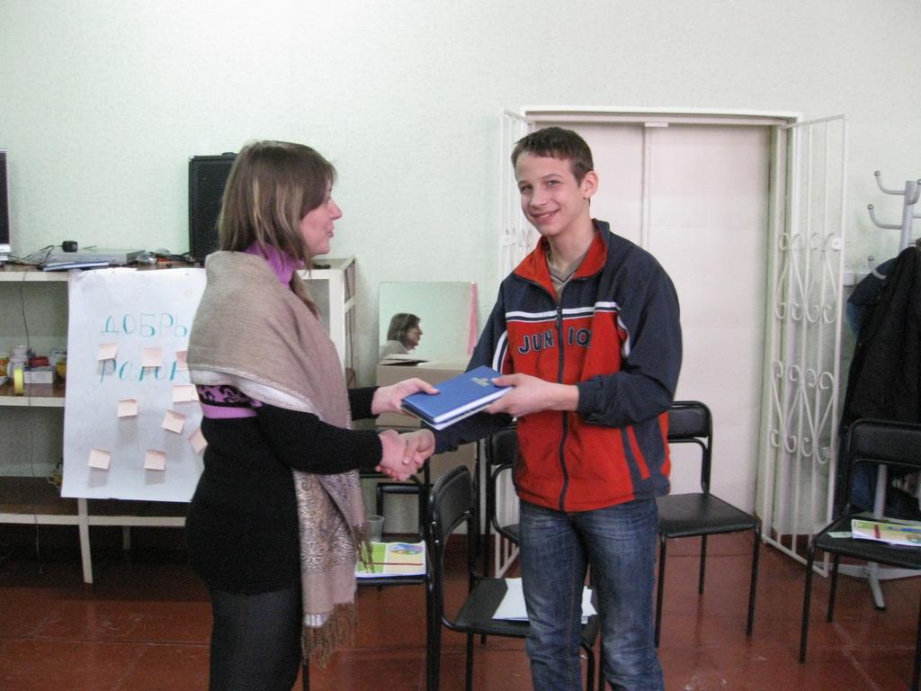 Participants of training in Bila Tserkva