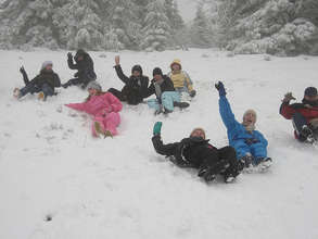Winter trip for care leavers