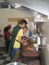 Orphans leaving care at the cooking class