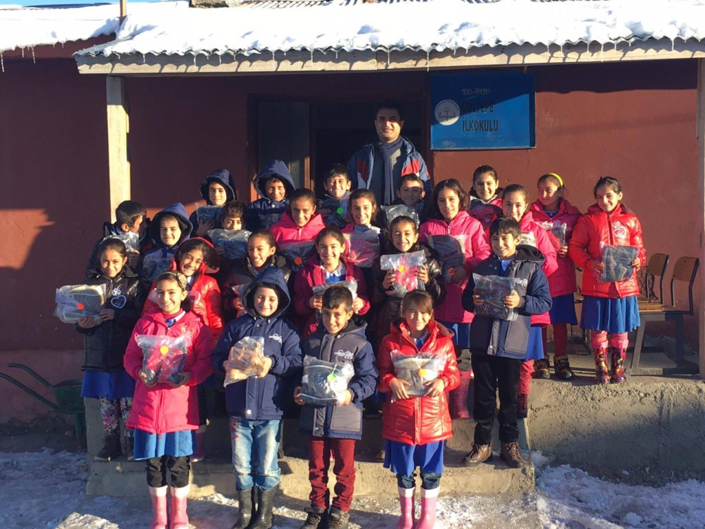 Gultepe students ready for winter