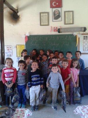Boyaci Village School students