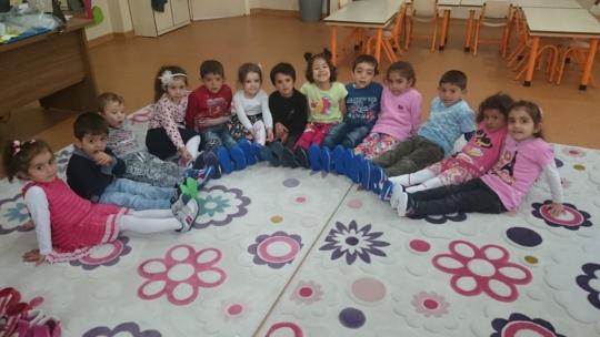 Esentepe Kindergarten Students