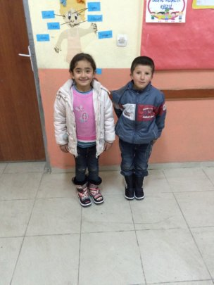 Agri-Eleskirt Goncali students got new boots.