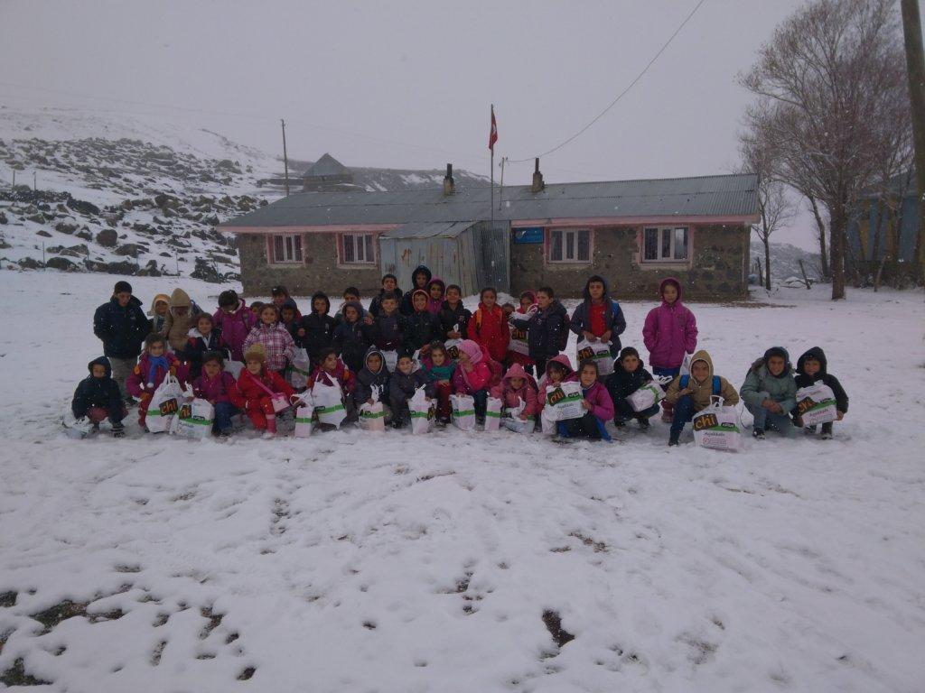 Kids from Mus Village School