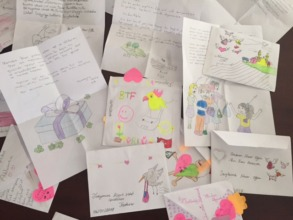 Letters from happy students...
