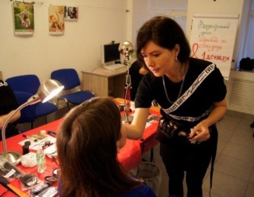 volunteer of the cosmetics brand