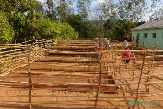 The new tree nursery in Faidanana