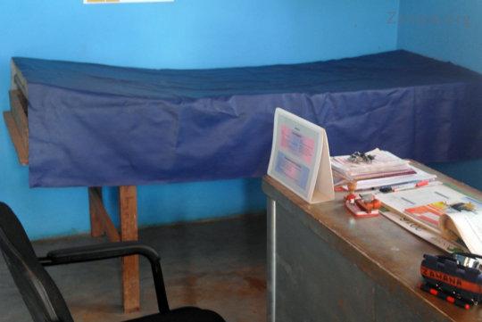 Inside the Health Center Examination Room