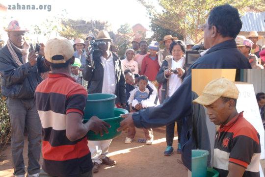 The 3rd prize winner for reforestation efforts