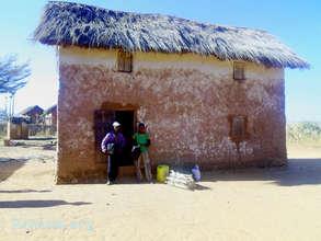 Donne and Dore's home in Fiadanana