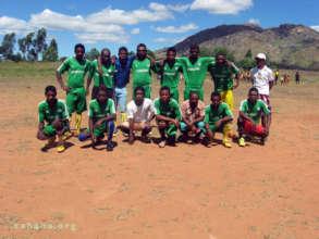 Zahana's soccer club
