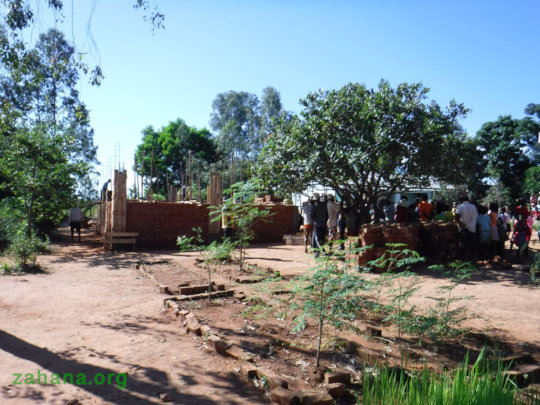 Meeting the needs for the new school with moringa