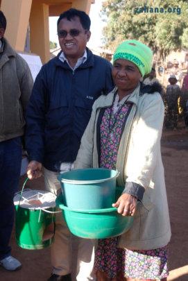 The 2nd prize winner for reforestation efforts