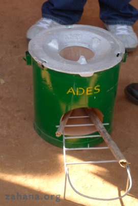 The rocket stove close-up