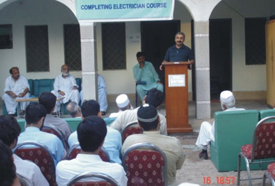 Certificate Distribution Ceremony to first Batch