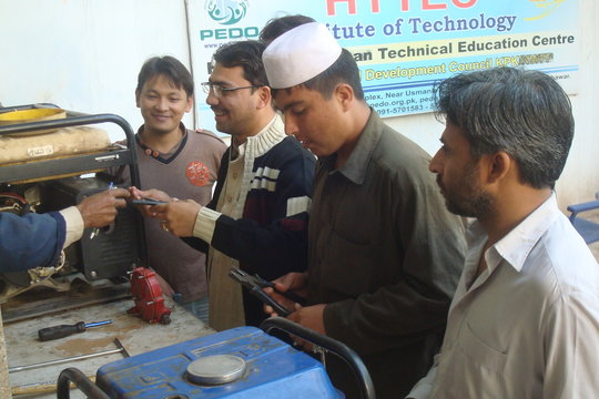 Train 500 Afghan Youth to Rebuild Afghanistan