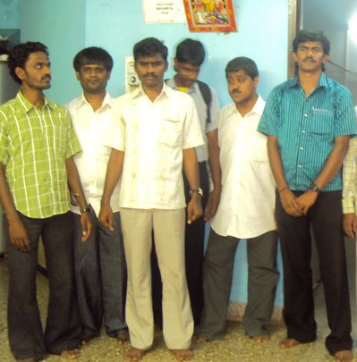 A few of our youths who found employment