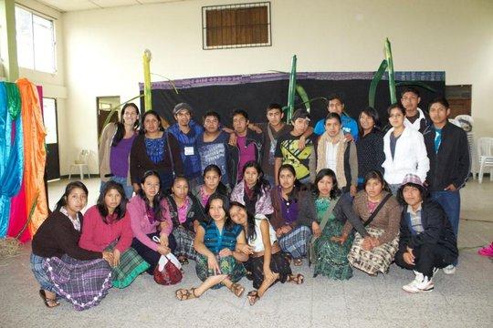 Youth Exchange with Luces Kaji Batz'