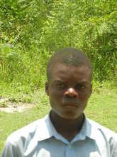 Eric in school at Adidokpoe