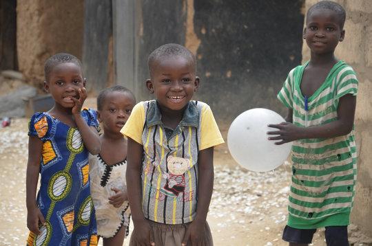 Young Children in the Vome Community, Volta Region