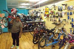 Fall Earn-A-Bike graduate Victor