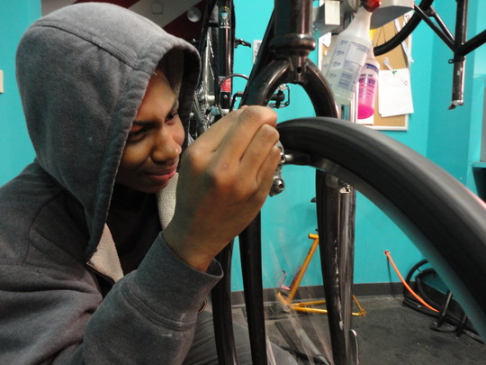 Support bike/youth programs in North Minneapolis