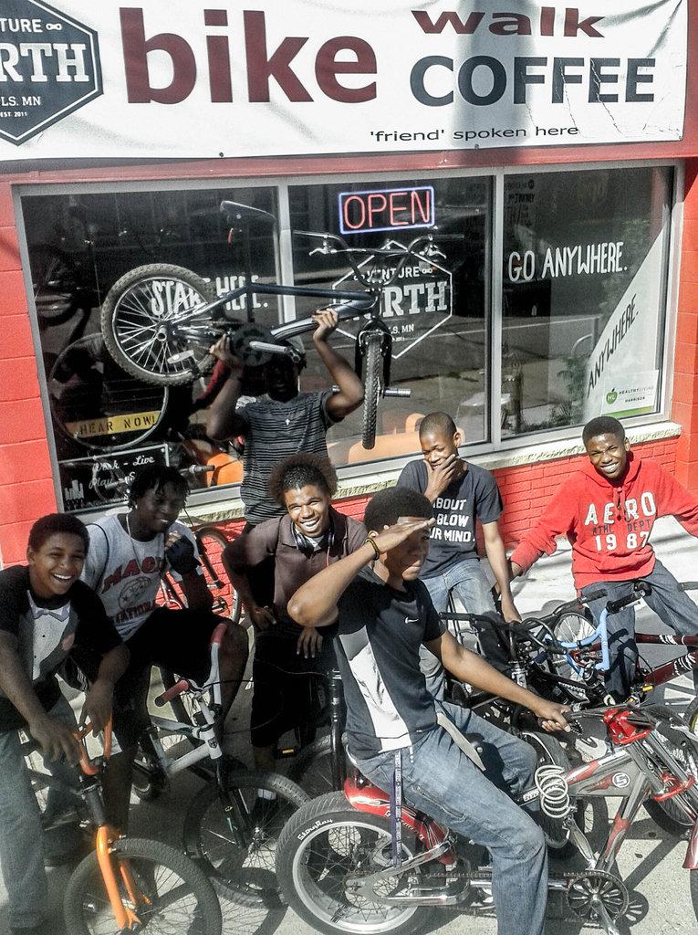 Final Earn-A-Bike cohort of the summer!
