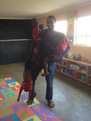 Even Ground's New Executive Director at Siyabonga
