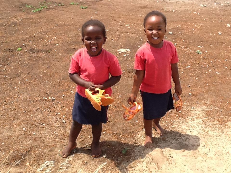 Children Happy to be at Siyabonga