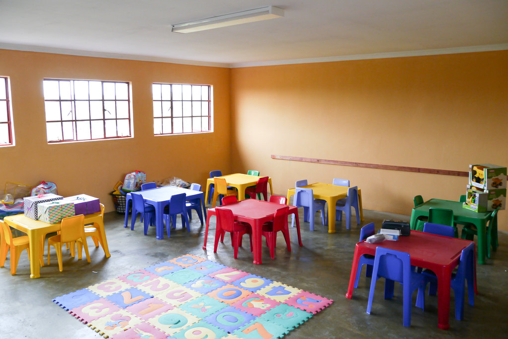One of our new classrooms