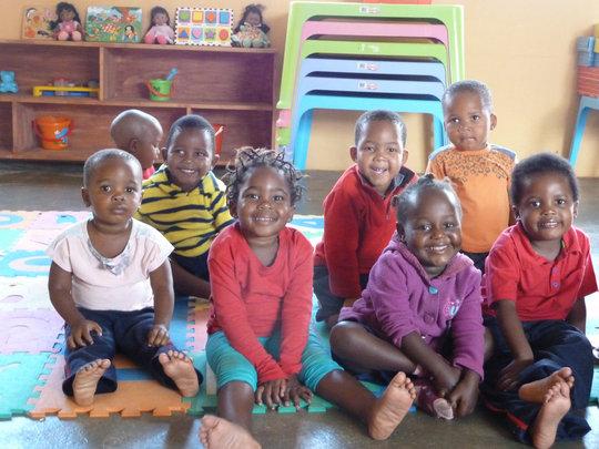 Children at Siyabonga
