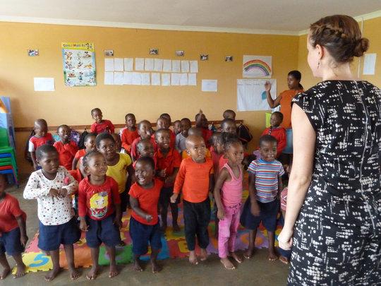 Lindsey, Thembanathi Director, Visits Siyabonga