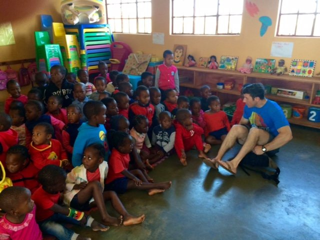Andrew Klaber visits Siyabonga