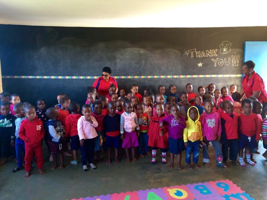 Children of Siyabonga welcome Even Ground board