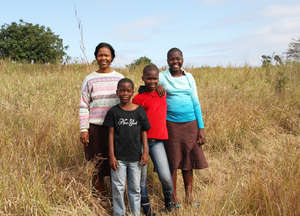Nonhlanhla and her children