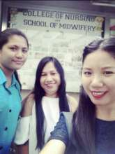 Cecille and classmates defended their thesis - BMS