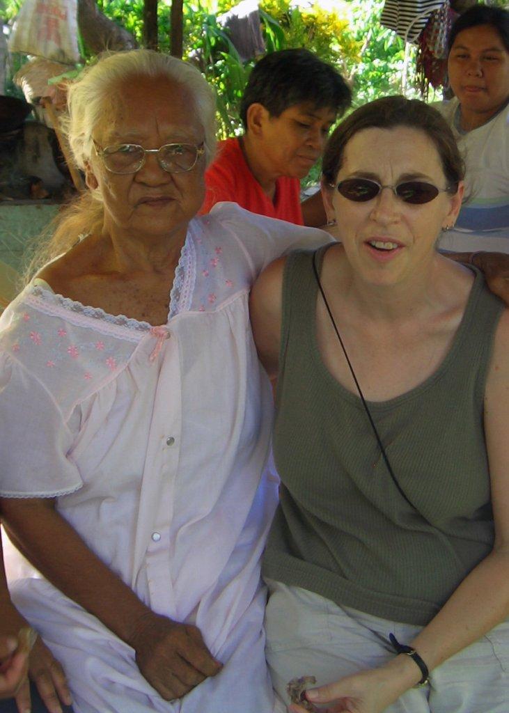 Vicki with Florencia circa 2007